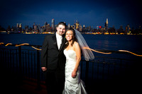 Wedding at the Chart House, Weehawken, NJ